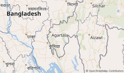 Agartala Map