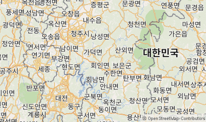 Cheongju Map