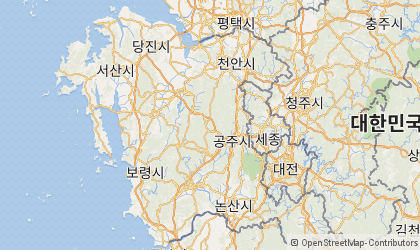 Cheonan Map