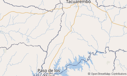 Tacuarembó Map